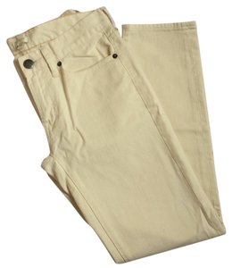J.Crew Cream Pants Factory Skinny Jeans