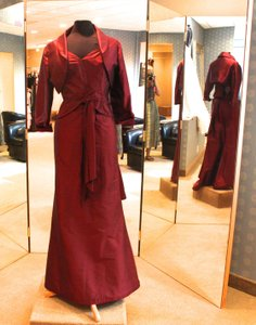 Gail Garrison Maroon 3006 Dress