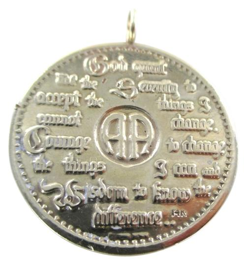 Preload https://item2.tradesy.com/images/gold-14k-solid-yellow-pendant-serenity-prayer-aa-12-steps-recovery-fellowship-charm-5357251-0-0.jpg?width=440&height=440