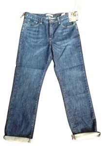 Lee New With Tags New Denim Discontinued Straight Leg Jeans-Dark Rinse