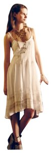 White Maxi Dress by Anthropologie
