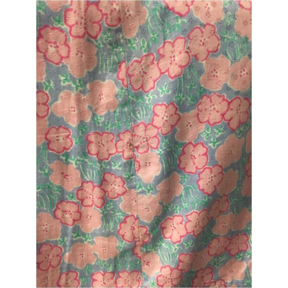 Lilly Pulitzer Purple And Pink Floral Flowers Summer Size 6 S 28
