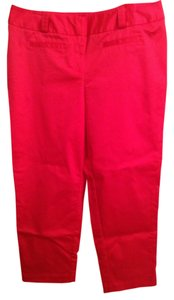 Worthington 56% 42% Nylon 2% Spandex Straight Pants Pink