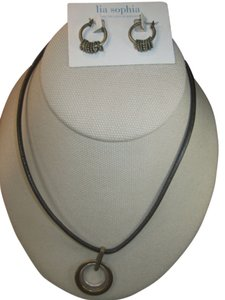 Lia Sophia Lia Sophia tuscany necklace and earrings