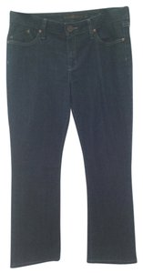 Dylan George Stephanie Straight Leg Jeans-Dark Rinse