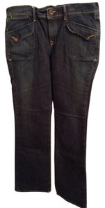 Old Navy 99% Cotton 1% Spandex Boot Cut Jeans-Medium Wash