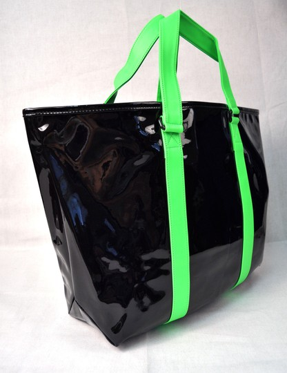 Marc by Marc Jacobs Handbag Tote in Black Green