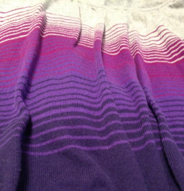 Old Navy Rounded Neckline 3/4 Sleeves Light Weight Casual Cotton Sweater