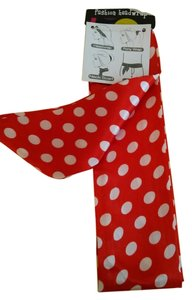 Other NWT Red Polka Dot Skinny Scarf-FALL 2015