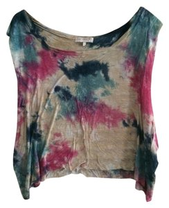 DAYDREAMER Urban Outfitters Crop Top Tie-dye