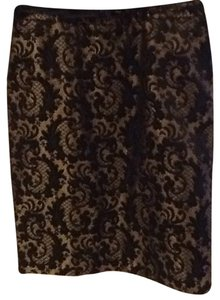 Worthington Skirt Black/Gold