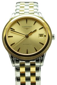 Longines Longines Flagship Two Tone Automatic Stainless Steel & Gold Tone Bracelet Watch L4.774.3.32.7 L47743327