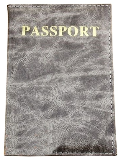Other BOGO Free Grey Marbled Passport Cover Wallet Free Shipping
