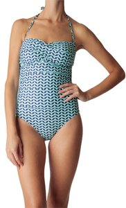 Helen Jon TWIST BANDEAU ONE-PIECE- CHASE