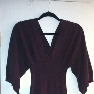 Derek Heart short dress Brown on Tradesy