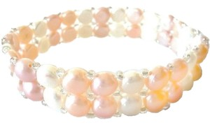 Other Shades of Pink Genuine Freshwater Pearl Bracelet