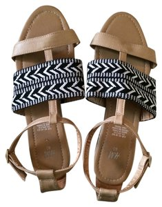 H&M Black Tribal Black tribal/tan Sandals