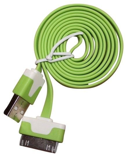 Preload https://item4.tradesy.com/images/green-iphone4-usb-charger-cable-tech-accessory-5360353-0-0.jpg?width=440&height=440