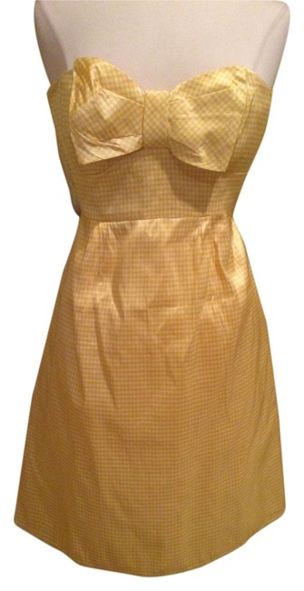 Preload https://item3.tradesy.com/images/nanette-lepore-yellow-white-above-knee-cocktail-dress-size-2-xs-5360557-0-0.jpg?width=400&height=650