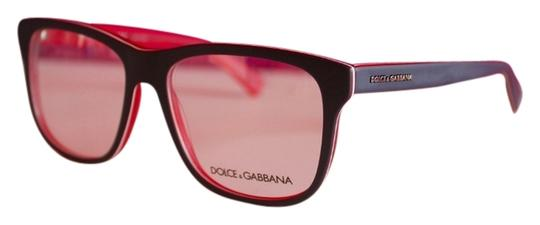 Dolce And Gabbana Thick Frame Glasses : Dolce&Gabbana Dolce Gabbana DG3206 Navy Red Thick Frame ...