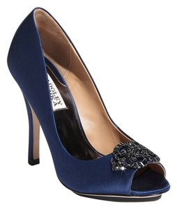 Badgley Mischka navy blue Sandals