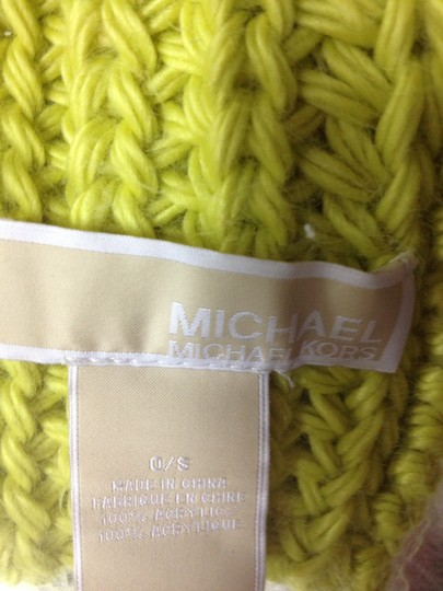 Michael Kors Michael Kors Fisherman Stich Button Scarf with Pocket