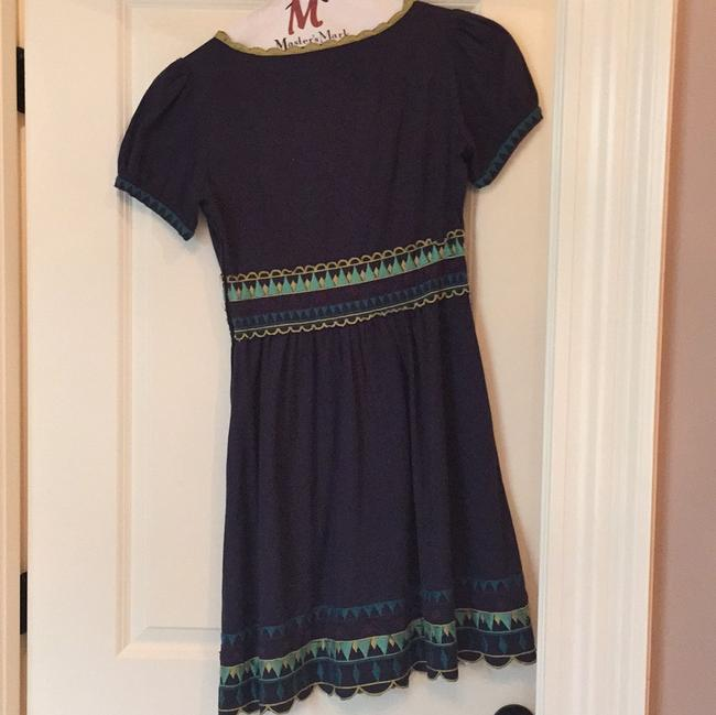 Viola short dress Navy on Tradesy