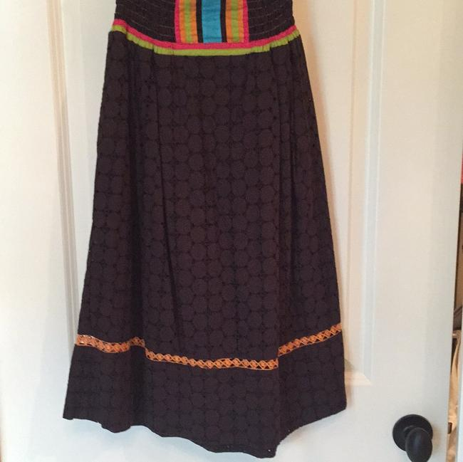 Voile short dress Brown on Tradesy