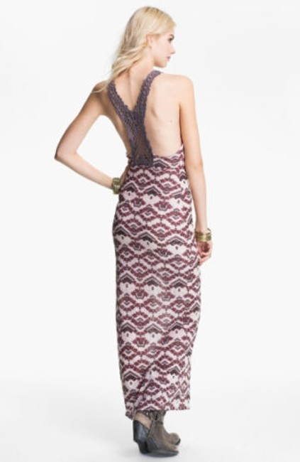 multi peach brown Maxi Dress by Free People