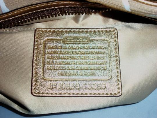 Coach Next Day Shipping Satchel in Khaki / Gold