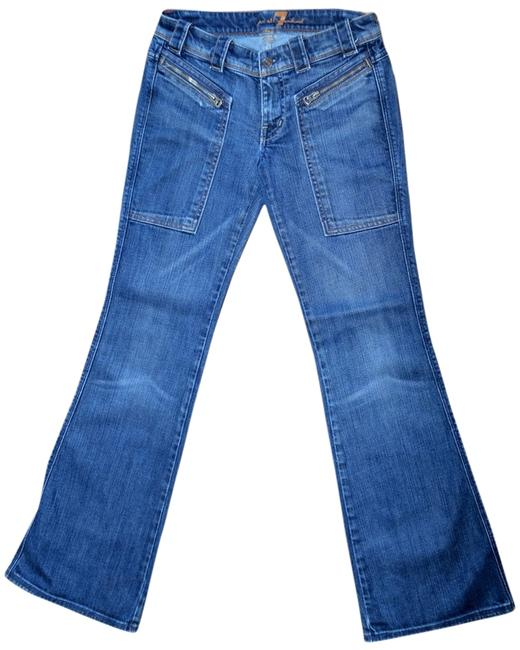 Preload https://item2.tradesy.com/images/7-for-all-mankind-blue-made-in-usa-flare-leg-jeans-size-25-2-xs-5361646-0-0.jpg?width=400&height=650