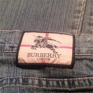 Burberry Straight Leg Jeans