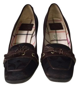 Coach Chocolate brown Pumps