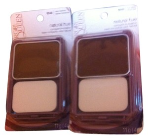 Other Covergirl Makeup BRAND NEW IN BOX 2 -Peice Covergirl Queen Compact Foundation,1 Q540 Sheer Espresso,1 Q555 True Ebony W/Applicator/Mirror Retail $25.98