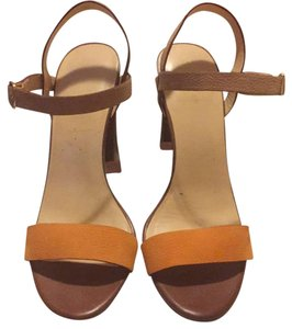 Cole Haan Tan/nude/orange Platforms