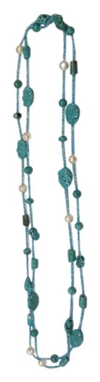 Preload https://item1.tradesy.com/images/jewelry-set-of-two-turquoise-necklaces-5362585-0-0.jpg?width=440&height=440