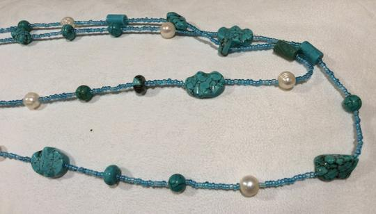 Other Set of two turquoise necklaces