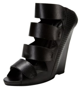 Narciso Rodriguez Black Wedges