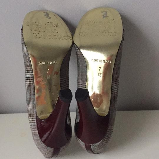 Juicy Couture Maroon Pumps