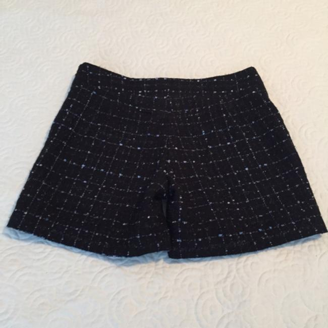 Other Dress Shorts Black with lilac silk weave
