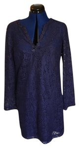 Trina Turk short dress Navy on Tradesy
