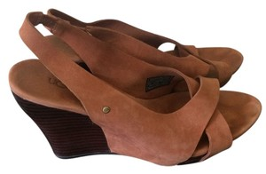 UGG Australia Sandals Brown Wedges