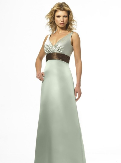 Alexia Designs Sage / Cocoa Style 850 Dress