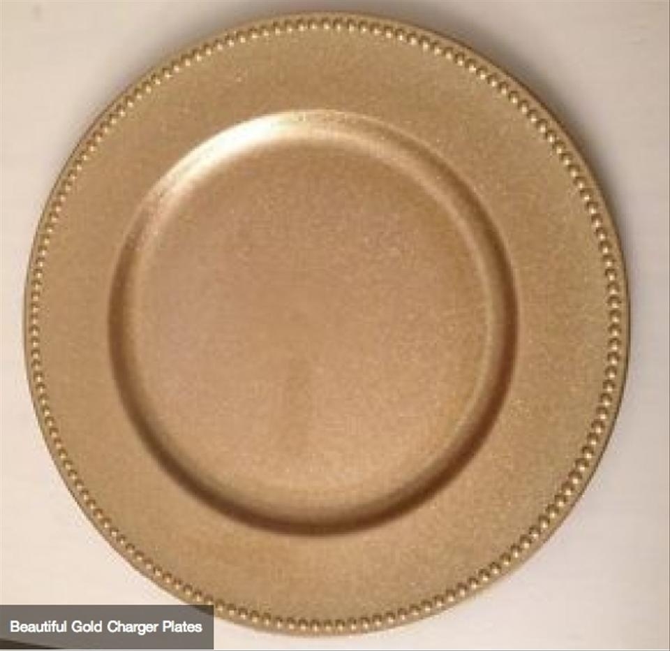 Beautiful Gold Charger Plates Tradesy