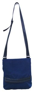 Tumi Nylon Leather Trim Shoulder Bag