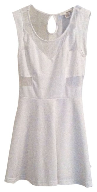 Preload https://item4.tradesy.com/images/white-a-line-skater-with-mesh-cutouts-above-knee-cocktail-dress-size-8-m-536578-0-0.jpg?width=400&height=650