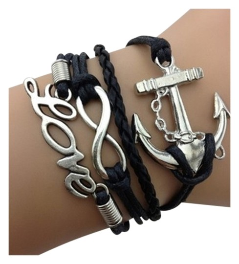 Other LOVE, INFINITY, ANCHOR CHAIN BRACELET