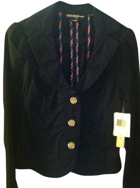 Preload https://item5.tradesy.com/images/guess-black-none-available-blazer-size-8-m-536649-0-0.jpg?width=400&height=650