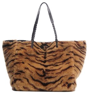 b9a6d2376b Added to Shopping Bag. Mulberry Tote. Mulberry Teddy Tiger Fur Medium  Dorset Brown Handbag ...