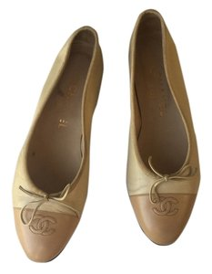 Chanel Crime with camel Flats